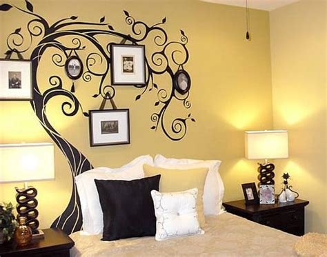 painted wall ideas bedrooms simple wall painting designs for bedroom home combo