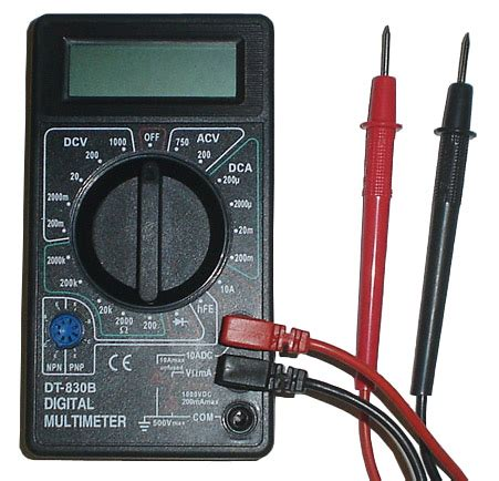 Multi Tester Dt 830b Masda digital volt multimeter battery tester dt 830b