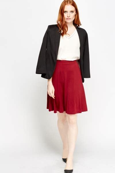 swing midi skirt swing midi skirt burgundy or black just 163 5