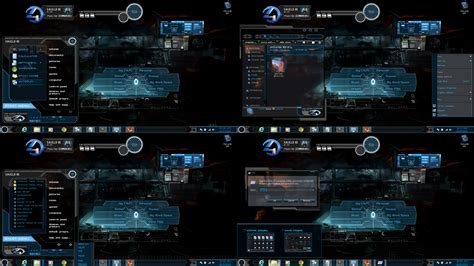 themes for windows 7 custom new windows 7 themes black xux by customizewin7 on deviantart