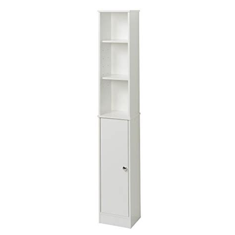 bathroom tower cabinet white zenna home 9447w bathroom linen tower shelf cabinet white