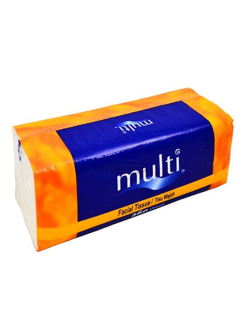 Tissue 900g 2 Ply multi tissue mp 01 250 s non parfumed bag