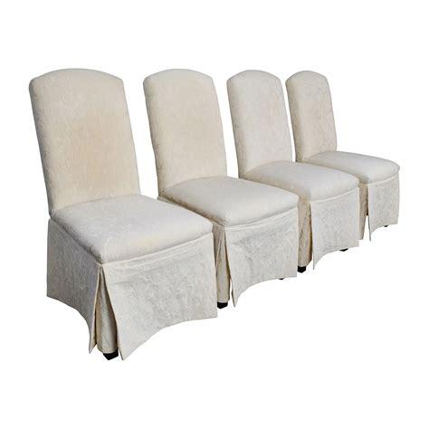 Ivory Dining Chairs 90 Thomasville Thomasville Ivory Upholstered Dining Chairs Chairs