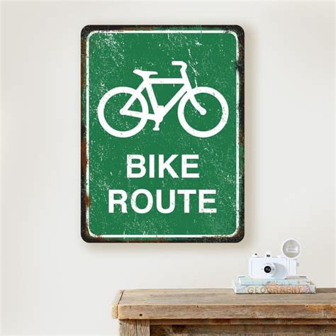 Apply For Pottery Barn Credit Card Metal Bike Route Sign Pbteen