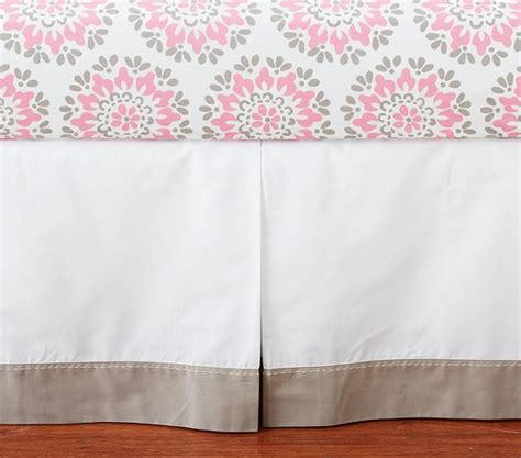 Dahlia Crib Bedding Dahlia Crib Skirt Pottery Barn