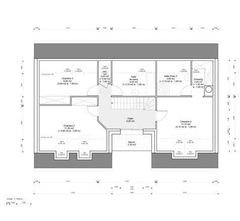 Plan De Dressing Chambre 2482 by Plan De Dressing Chambre Chambre Dressing Sdb Plan 3 Pi