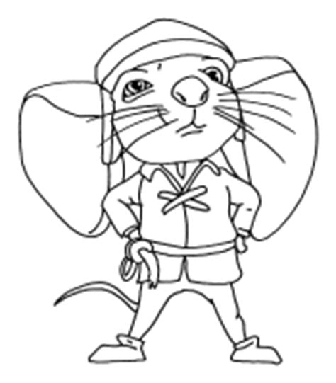 mega coloring pages 6 the tale of despereaux coloring pages
