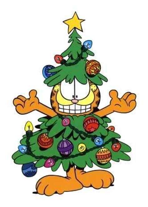 garfield christmas tree holidays pinterest