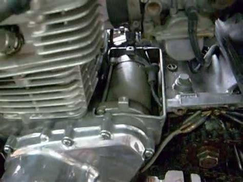Motorrad Batterie Reparieren by Kawasaki Ltd 440 Anlasser Ausbauen Und Reparieren Teil 1