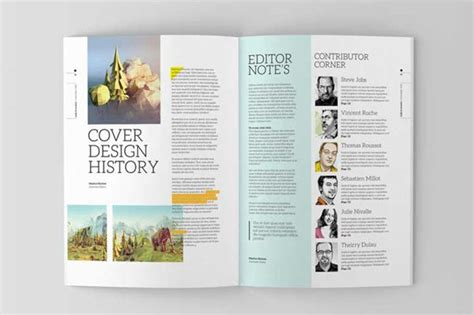indesign magazine template on editorial design served