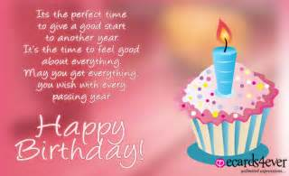 happy birthday wishes message on