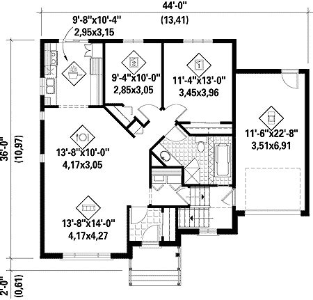 simple one story house plan 80631pm 1st floor master