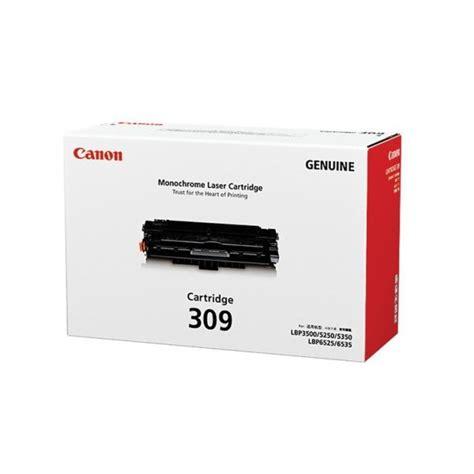 Printer Laser Canon Lbp 3500 Canon Cartridge 309 Black Toner Cartridge Is Used For Canon Lbp 3500 Laser Printer Toner