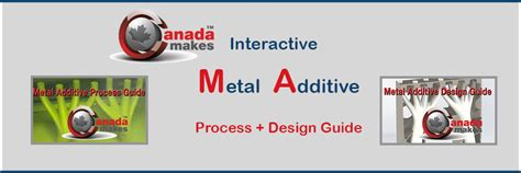 design for additive manufacturing training canada makes releases the metal additive design guide