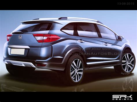 Auto Window Up And Xpander Seven Auto production spec honda br v crossover rear end rendering