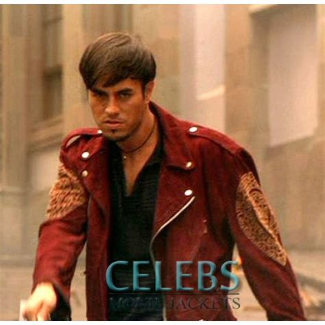 404382 once upon a time in once upon a time in mexico enrique iglesias red jacket cmj