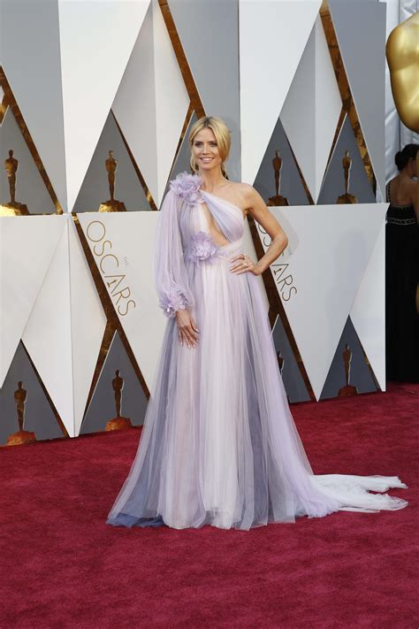 Which Heidi Klum Oscar Gown Was The Most Fab by Best Oscar Dresses Best Dressed At Oscars 2016