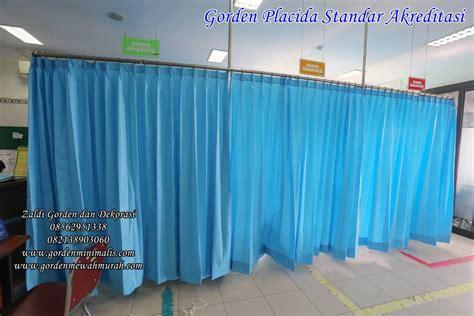 Gorden Anti Darah Gorden Plastik Pvc Rumah Sakit Anti Bakteri Anti Noda