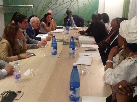 consolato senegal roma ministro commercio senegal incontra imprenditori