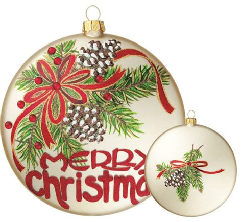 merry christmas ornament rustic christmas ornaments