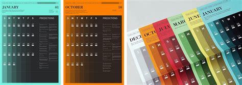 desain kalender yang unik cara desain 20 desain kalender paling keren unik yang