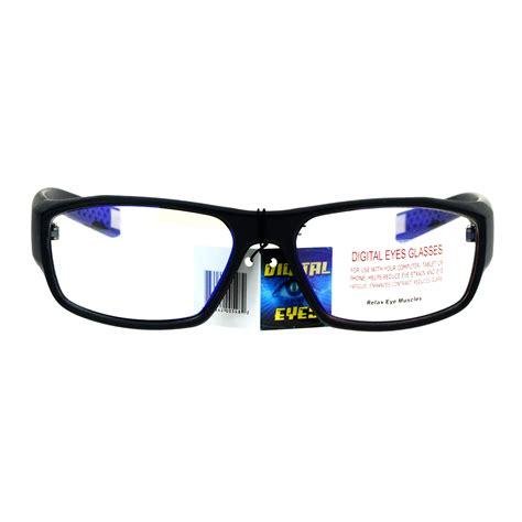 blue light protection glasses mens vision protection blue light blocking computer glasses