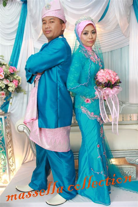Baju Jubah Pink Biru d massellacollection boutique september 2012