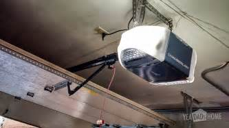 tips for replacing a garage door opener yea dads home
