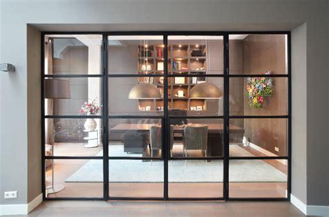 scheidingswand woonkamer keuken glazen scheidingswand smid wijnheymer