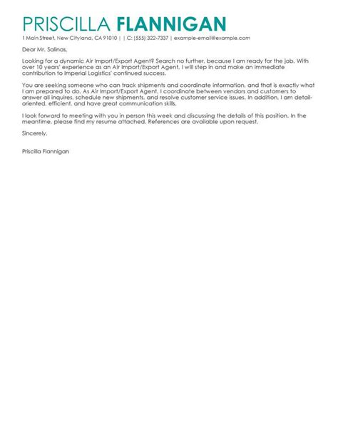 Import Specialist Cover Letter by Shipping Specialist Cover Letter Template For Gift Voucher