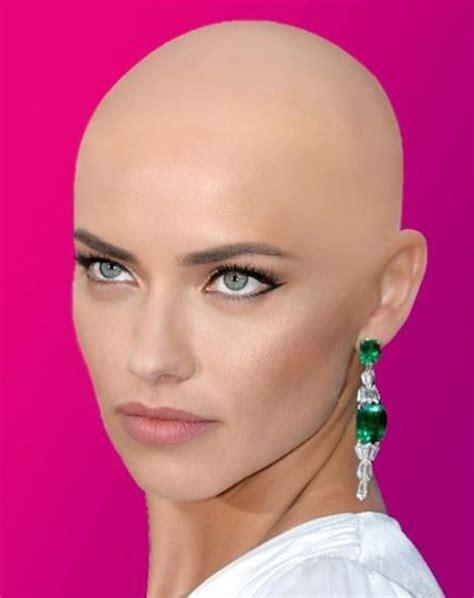 very beautiful headshave girls love bald women flattoper88 those eyes very beautiful