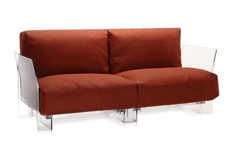 kartell divani kartell divano a 2 posti per esterni pop outdoor arancio