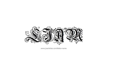 liam name tattoo designs