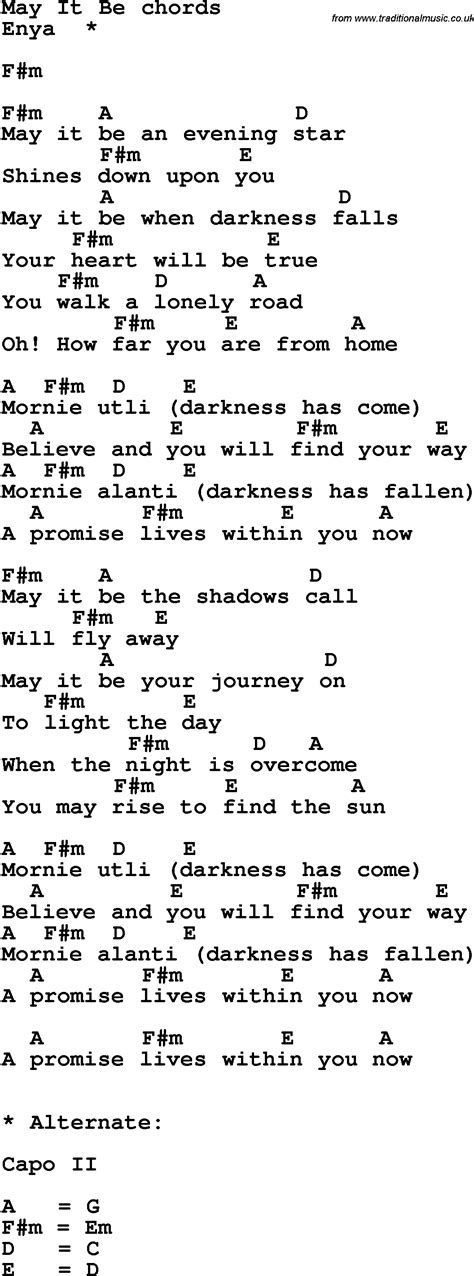guitar tutorial it might be you pin song lyrics with guitar chords for may it be on pinterest