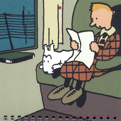 Calendrier Tintin 2018 Tintin Calendrier Mural 201 Dition 2018 Herg 233 Bdnet