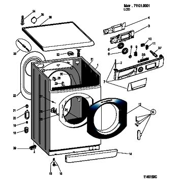 hotpoint washer parts diagram a hotpoint ultima wmd960 washing machine keeps