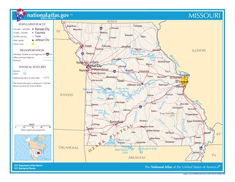 state of missouri map large detailed map of missouri state missouri state large