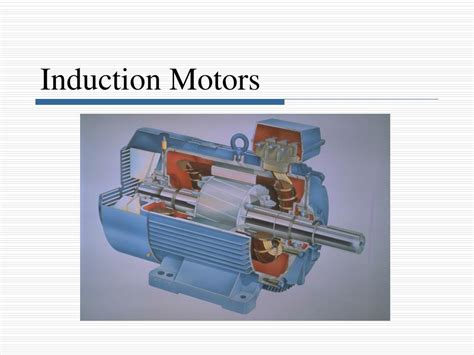 three phase induction motor lectures ppt induction motors powerpoint presentation id 752079