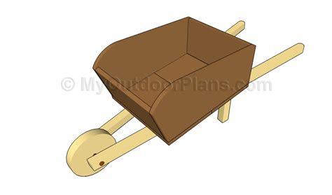 How To Build A Wheelbarrow Planter by Wood Wheelbarrow Plans Pdf Diyplans
