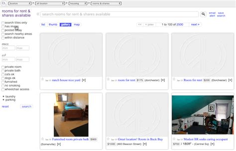 craigslist shared rooms how to look for accommodation on craigslist work travel experience