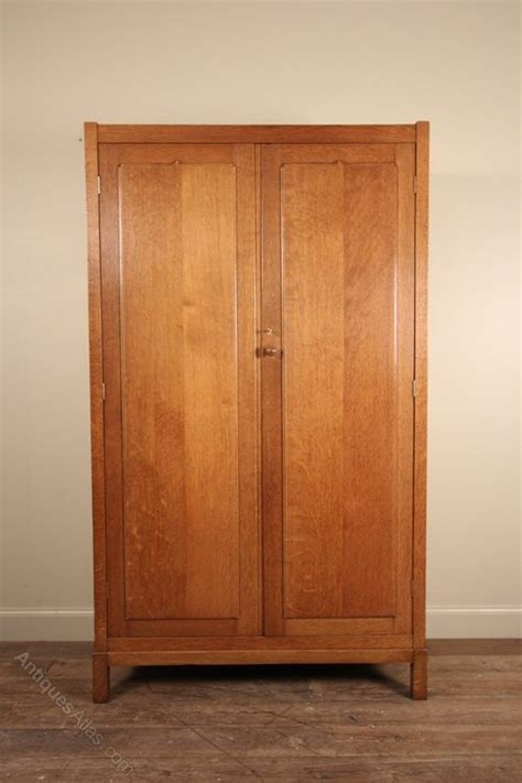 heals letchworth oak wardrobe antiques atlas