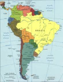 map of south america 2005