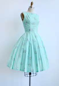 vintage 1950s mint green sundress peppermint dress