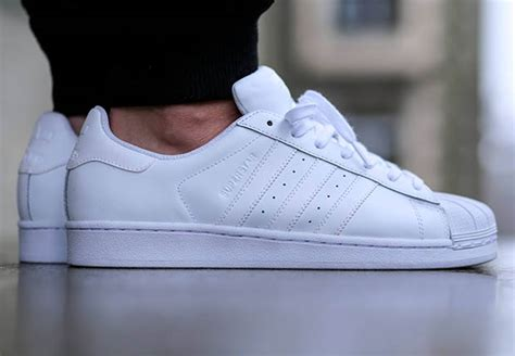 Adidas Superstar All White adidas originals superstar foundation quot all white