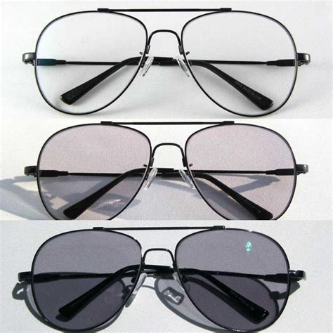 fashion photochromic sunglasses clear driving goggles