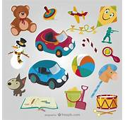 Toys Cartoons Collection Vector  Free Download