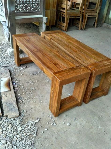 Meja Jati Bekas mebel kayu jati bekas bangku minimalis kedai mebel jati