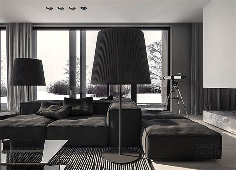 grey home interiors a single family home interior in cool shades of gray