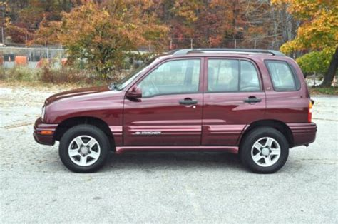 purchase used 2003 chevy tracker 4x4 power locks windows gas saver great in snow in waterbury