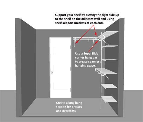 Walk In Closet Depth by Closet Walk In Decor Minimum Dimensions For A Walk In Closet